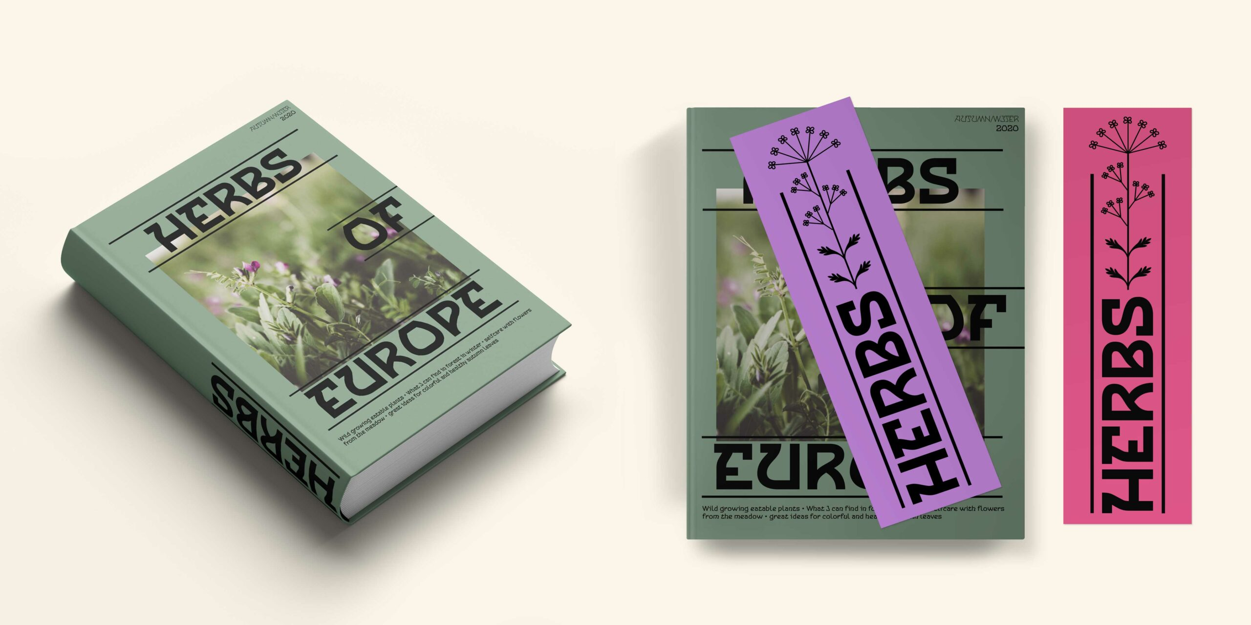 Cnabel font book herbs of europe