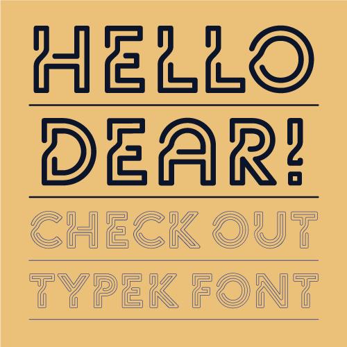 typek font