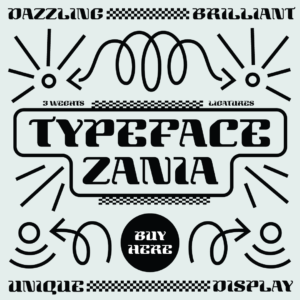 Zania typeface